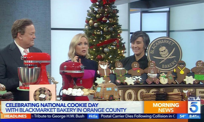Black Market Bakery On KTLA5
