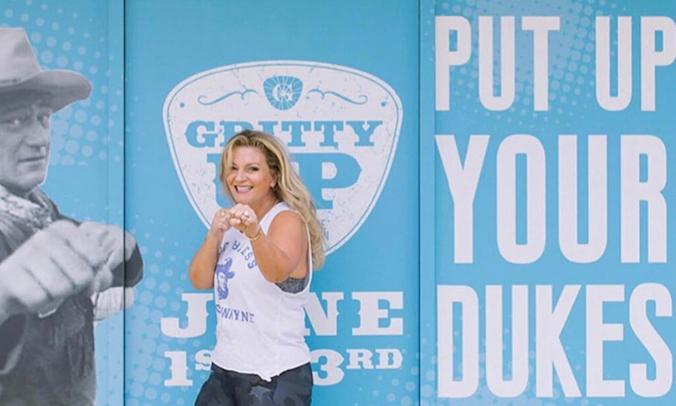 Marisa Wayne Shows True Grit For John Wayne Cancer Foundation