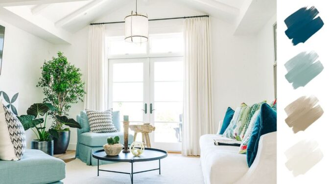 6 No-Fail Living Room Color Schemes Designers Use Again And Again
